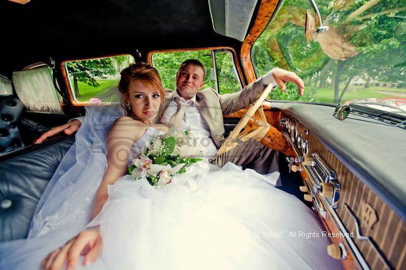 Gaz 13 chaika wedding car