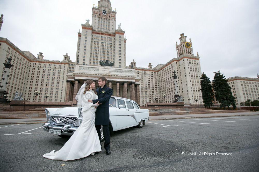 Прокат ретро автомобиля газ-13 чайка на свадьбу