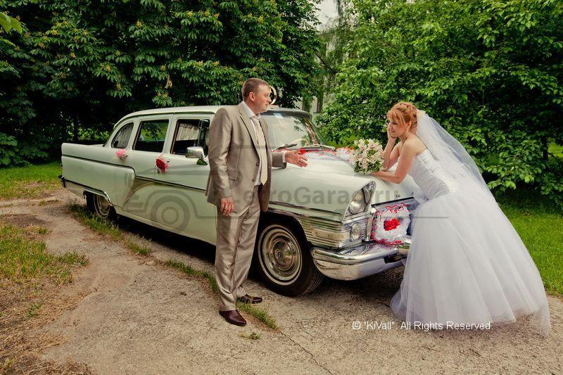 Saarland автомобиль чайка газ 13 - для вашей свадьбы 1