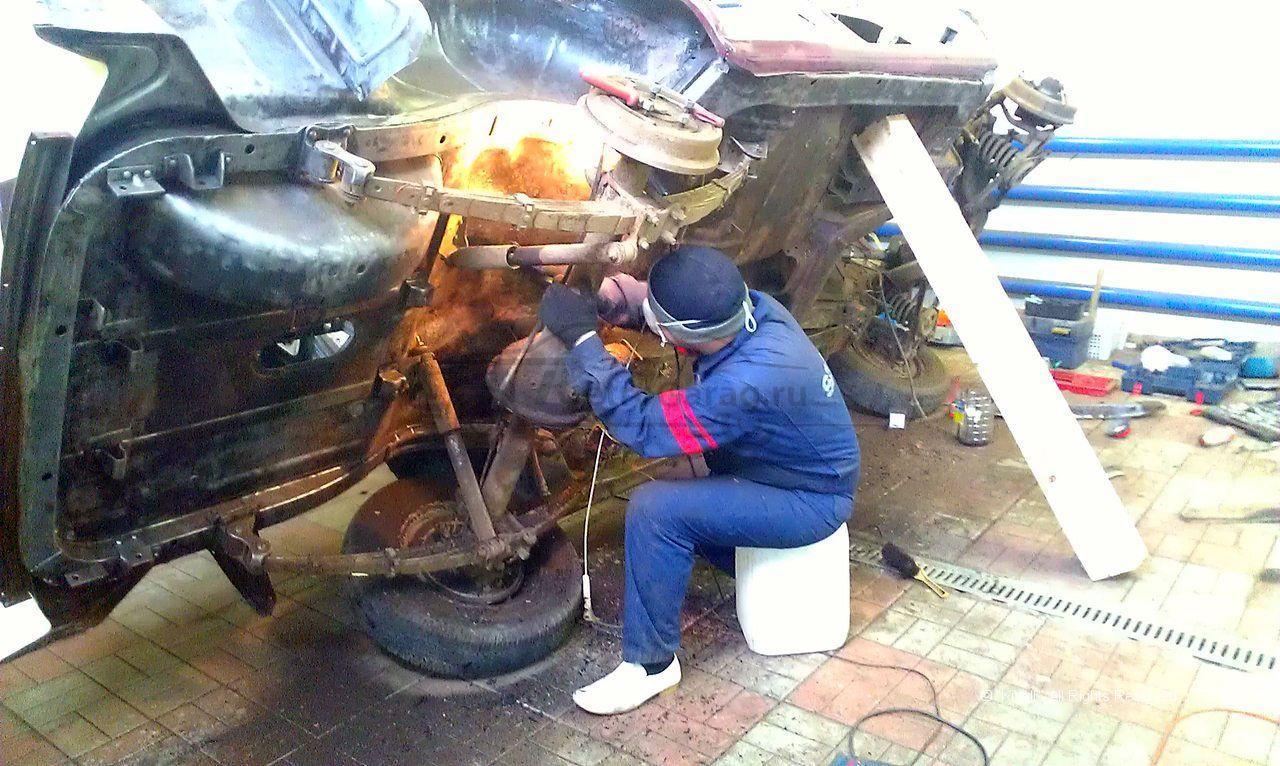 Реставрация газ-21 своими руками 82