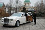 Rolls-Royce Phantom белый